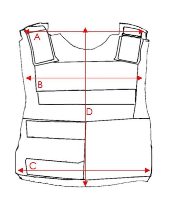 5515dc4ef0c Bullet Proof External Vest Size chart